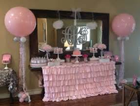 dollar store baby shower baby shower balloon decor
