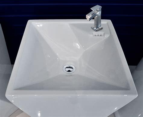 modern pedestal sink maccione modern pedestal sink