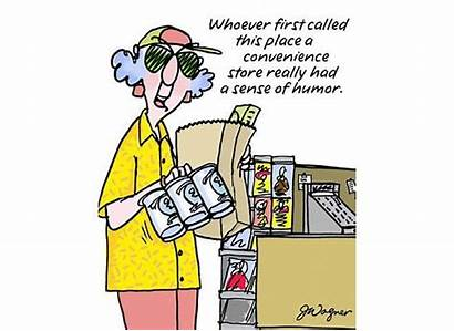 Maxine Recycling Shopping Funny Convenience Humor Humorous