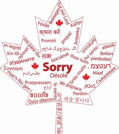 Canadian Canada Sorry Things Travel Word Wish