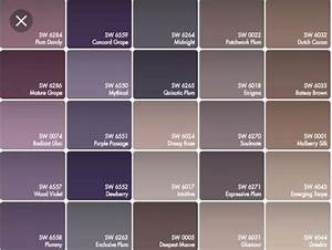 Color Scheme For Little Girls Room  Purple And Grey Walls  Tan Carpet  Brown Accents In