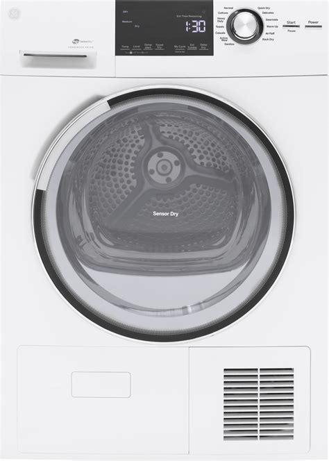 ge gfwsslww  compact washer gftesslww ventless dryer