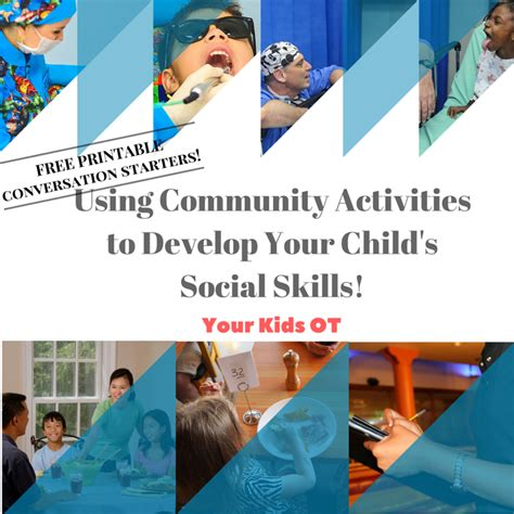 your ot your ot 107   using community activities to develop your child s social skills orig