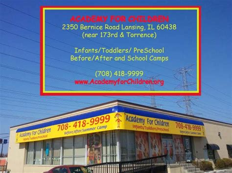 academy for children lansing il day care center 763 | logo afcphoto
