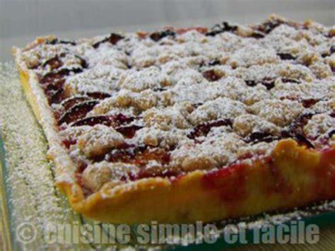 recette de cuisine simple et bonne recettes de tarte aux quetsches de cuisine simple et facile