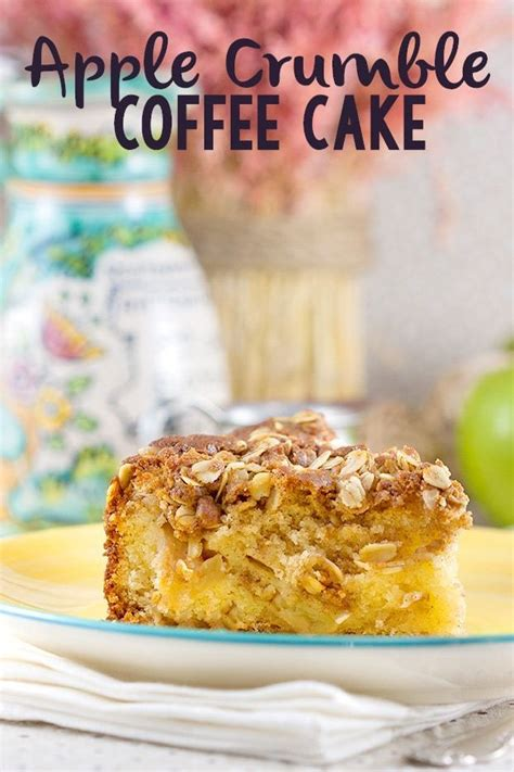 Choose one drink, one savory pastry, and one dessert, for just $12! Apple Crumble Coffee Cake - The Unlikely Baker