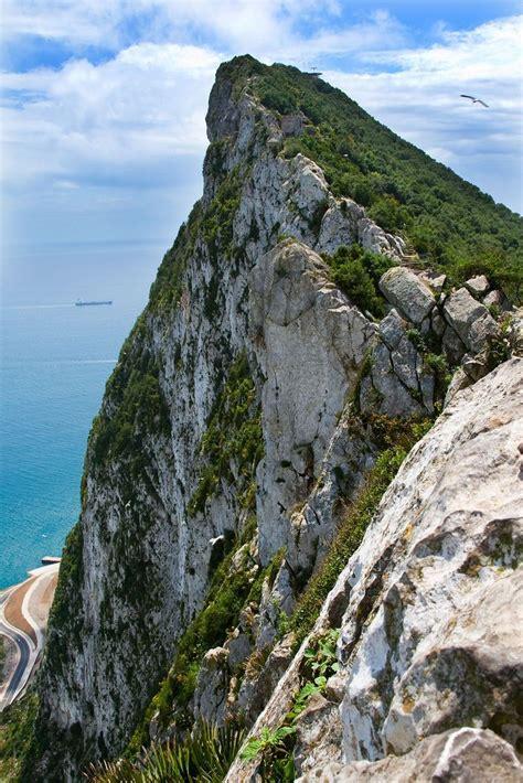 rock of gibraltar l rock of gibraltar beautiful outdoors pinterest