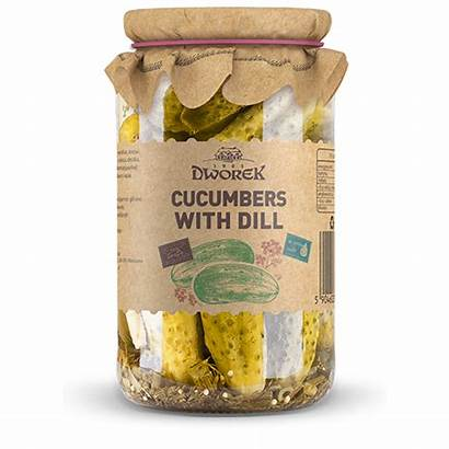 Pickles 900ml Dworek Dill Marinated Gherkins