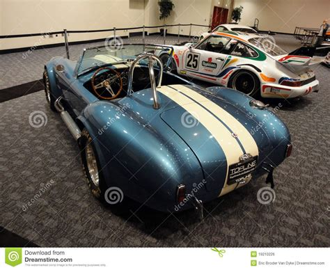 Classic Racing Cars On Display At Car Show Editorial Photo