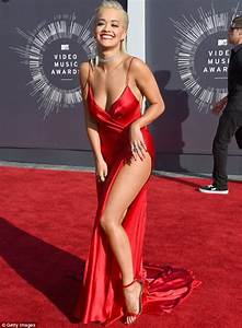 Rita Ora Opts For Three Barely There Outfits At The MTV