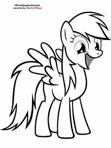 Rainbow Dash Coloring Page | Clipart Panda - Free Clipart ...