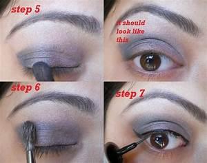 Smokey Dark Grey and Green Eye Makeup Tutorial