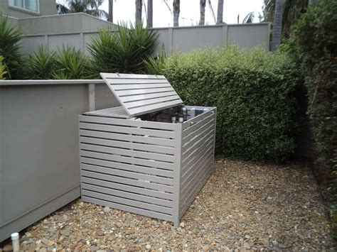 hide pool equipment screens to hide pool equipment shutters melbourne privacy screens melbourne longview