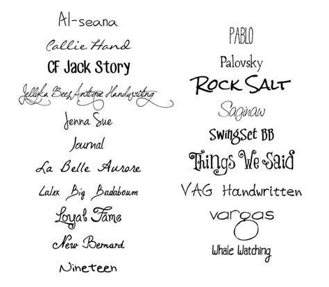 20 free handwritten fonts studio guerassio