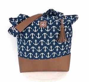 Tasche Mit Anker : schultertaschen tasche maritim anker blau mit quaste ein designerst ck von pepanella bei ~ Eleganceandgraceweddings.com Haus und Dekorationen
