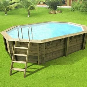 Norme Pour Piscine Hors Sol : piscine hors sol bois athena l 6 1 x l 4 x h 1 2 m ~ Zukunftsfamilie.com Idées de Décoration