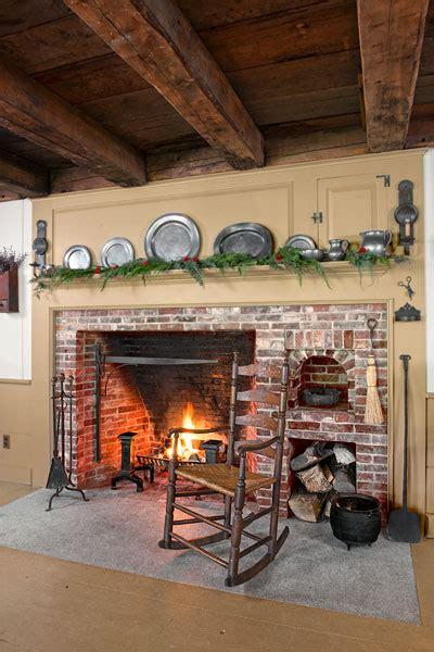 fireplace  bricks farmhouse kitchen revival   house