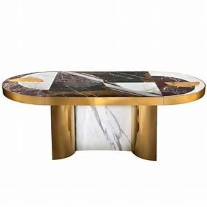 Grauer Esstisch : grauer marmor esstisch oval marmor esstisch marmor optik ~ Pilothousefishingboats.com Haus und Dekorationen