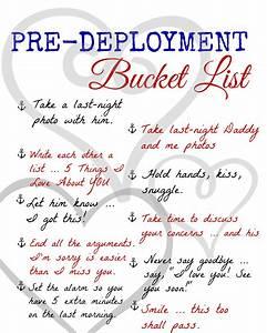 A Pre-Deploymen... Pre Deployment Quotes