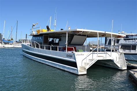 52ft Boat by Custom Design And Built 52ft Alloy Power Catamaran Power