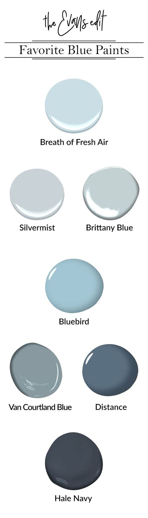 all time favorite blue paint colors the edit breath of fresh air 806 by benjamin