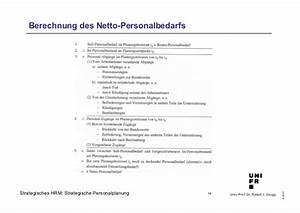 Personalbedarf Berechnen : shrm planung ~ Themetempest.com Abrechnung
