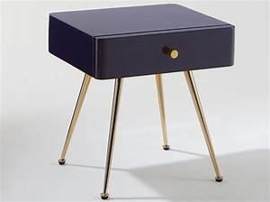 Table De Nuit Metal : 50 tables de chevet pour tous les styles elle d coration ~ Teatrodelosmanantiales.com Idées de Décoration