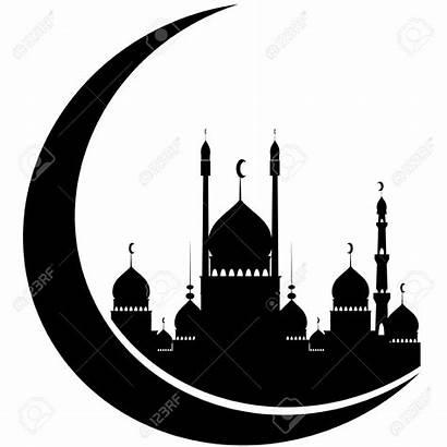 Masjid Mosque Vector Icon Gambar Kareem Ramadan
