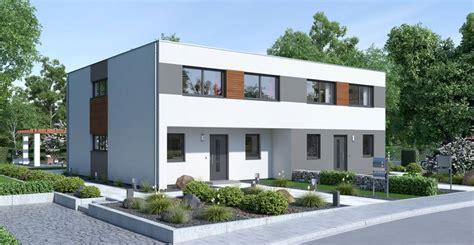 Modernes Zweifamilienhaus Mit Ytong Bausatzhaus Bauen