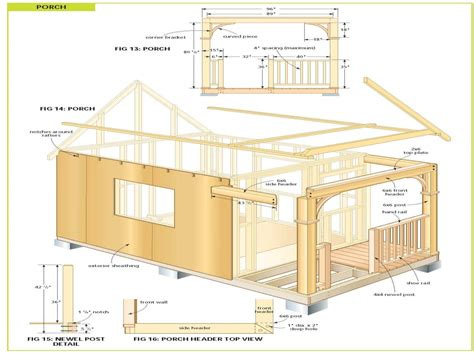 cottage floor plans free free cabin plans inexpensive small cabin plans chalet