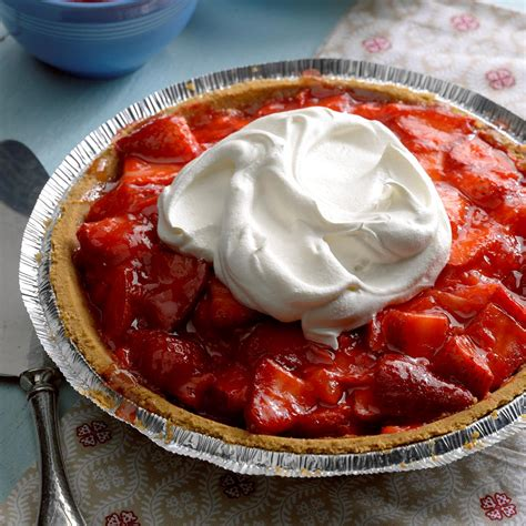 Light Strawberry by Light Strawberry Pie Recipe Taste Of Home