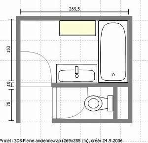 chauffage central electrique plan salle de bain 4m2 With plan maison r 1 gratuit 5 plans dimmeuble im02 plans de maison plans