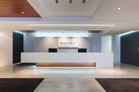 bureau reception deneys reitz office interior architecture style