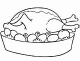 Meat Coloring Steak Printable Fish Chicken Fried Eggs Sheet Beef Template Bone sketch template