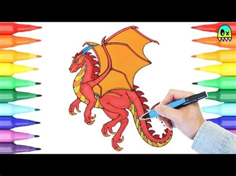 red dragon coloring pages  fun coloring   kids