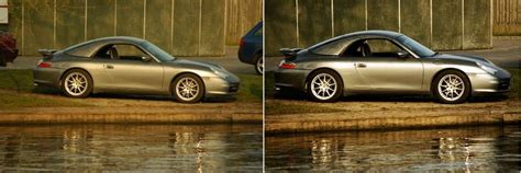 porsche before and after how to take photographs of cars 10 steps with pictures