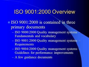 preparing for quality system certification ppt download With document management system iso 9001