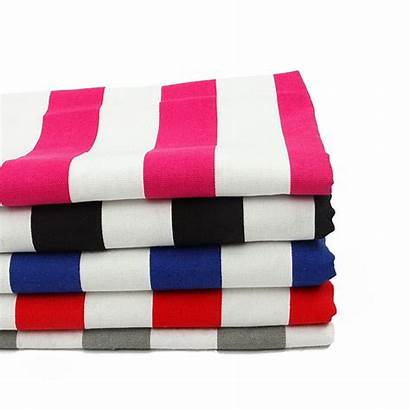 Fabric Canvas Printed Polyester Cushion Strips Cotton