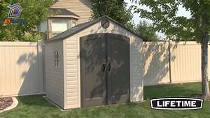 Lifetime 8x7 5 Plastic Shed