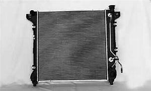 Dodge Durango Radiator 98 99 Oem Replacement Automatic