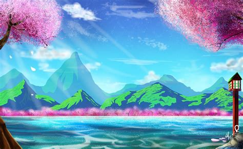 Artwork Background by Zeroes Anime Background Art By Miitoons On Deviantart