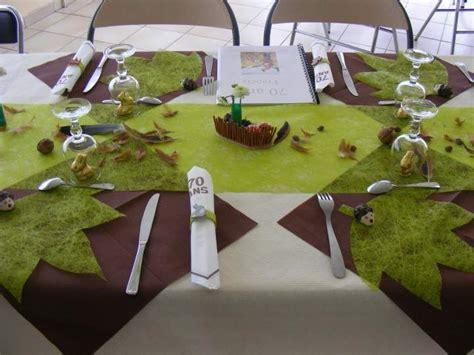 idee deco table theme chasse  evenements pinterest