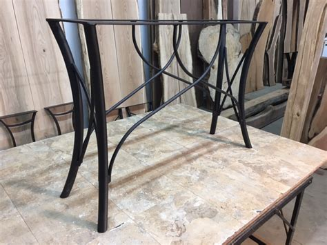 desk 40 inches long ohiowoodlands console table base steel sofa table legs
