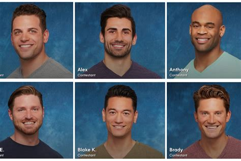 'The Bachelorette' bios are out, and all the contestants