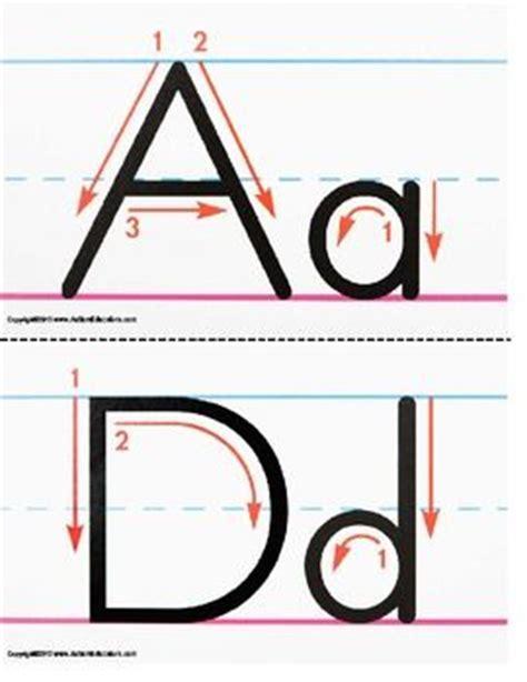 upper  lowercase letters poster  kid  pinterest