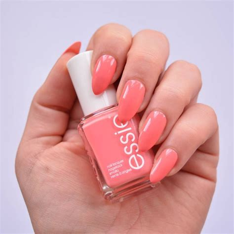 essie spring  collection pastel nails manicure