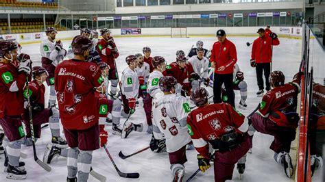 Latvijas hokeja izlase Ābola vadībā sākusi gatavoties turnīram Polijā - Hokejs - Sportacentrs.com