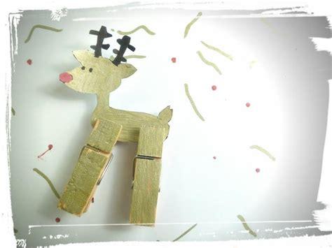 activite manuelle pince a linge renne pince 224 linge activit 233 manuelle pour enfants