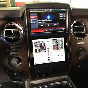 2014 Ford F250 Ipad Dash Installation In Melbourne Fl