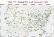Free Printable Us Highway Map Usa Road Map Luxury United ...